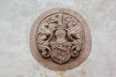 Wappenkunde Stockfoto