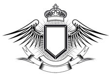 Wappenkundenauslegung Lizenzfreies Stockbild