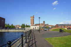 Wapping Dock, Liverpool, UK Royalty Free Stock Images
