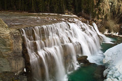 Wapta Falls Royalty Free Stock Photography