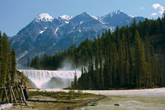 Wapta falls Stock Photo
