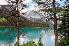 Wapta Lake, Yoho National Park, British Columbia, Canada. Stock Photos