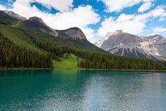 Wapta Lake, Yoho National Park, British Columbia, Canada. Royalty Free Stock Images