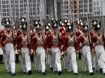 War of 1812 Reenactment Stock Photos