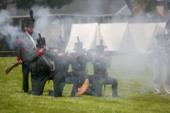 War of 1812 Reenactment Royalty Free Stock Photography