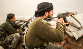 WAR-AGAINST-ISIL Royalty Free Stock Photos