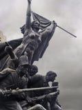 War against Napoleon monument detail Stock Photos