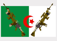 War in Algeria Stock Photography