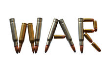 War ammunition Stock Photo