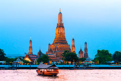 War Arun,  Bangkok, Thailandia. Royalty Free Stock Images