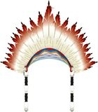 War bonnet hat stock illustration