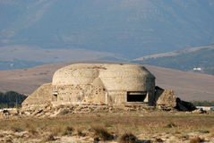 War Bunker in Spain Stock Image