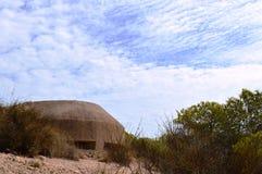 War Bunker, Spanish Civil War Stock Image