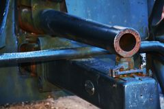 War cannon, detail, Castello, Conegliano Veneto Royalty Free Stock Photography