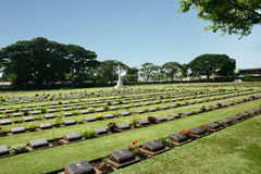 War Cemetery Stock Image