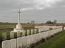 War cemetery Royalty Free Stock Images