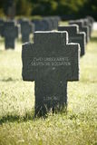 War cemetery in Germany Royalty Free Stock Photo
