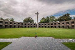 War cemetery Stock Photo