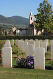 War cemetery, umbria Royalty Free Stock Images