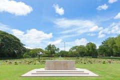 War Cemetery of the World War II Stock Image