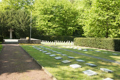 War Cemetery Royalty Free Stock Photography