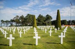 War Crosses in Normandy Stock Image