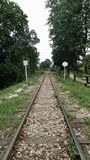 War Death Railway  in Kanchanaburi Thailand Royalty Free Stock Images