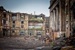 War devastation fear Russia, scenery, wet, dirty, Stock Photos