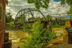War Eagle Mill Bridge Royalty Free Stock Images