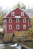 War Eagle Mill. The War Eagle Mill is located in Arkansas.  The original mill was built in 1832.  A second mill was constructed in 1848 after a flood washed away Stock Photography