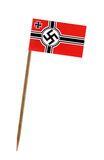 War ensign of Germany Stock Image