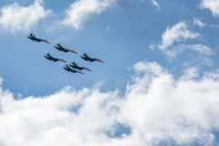 War fighter jets Royalty Free Stock Images