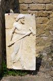 War god-Herculaneum-Italy Stock Photography