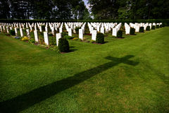 War graves on Cannock Chase. Royalty Free Stock Photos