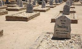 War Graves Cemetery Stock Photo