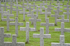 War Graves in France Stock Image