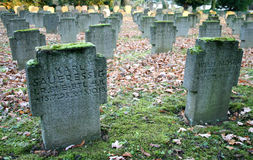 War Graves Royalty Free Stock Photography