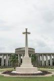 War graves at the Kyant war cemetery  in Ktauk Kyant, Myanmar. Stock Photos
