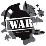 War grenade design illustration  Stock Images