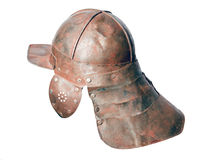 War helmet with neck back cover Stock Image
