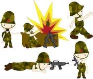 War Heroes royalty free illustration