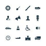 War icons set Stock Image