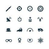 War icons set Royalty Free Stock Image