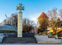 The War of Independence Victory Column in Tallinn, Estonia Stock Image