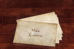 War Letters Stock Image