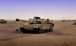War Machine. S in the Gulf War 1991 Stock Photography