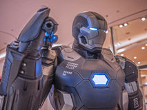 War Machine Mark 3 in Captain America Royalty Free Stock Image