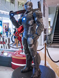 War Machine Mark 3 in Captain America Royalty Free Stock Photography