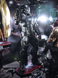 War Machine Mark 3 in Toy Soul 2015 Royalty Free Stock Photos