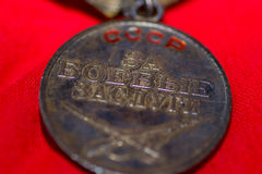 War medal military Stock Photography